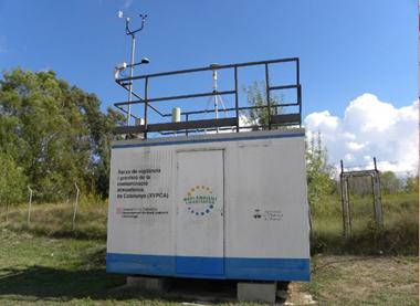 Estació qualitat de l'aire - Vilafranca del Penedès